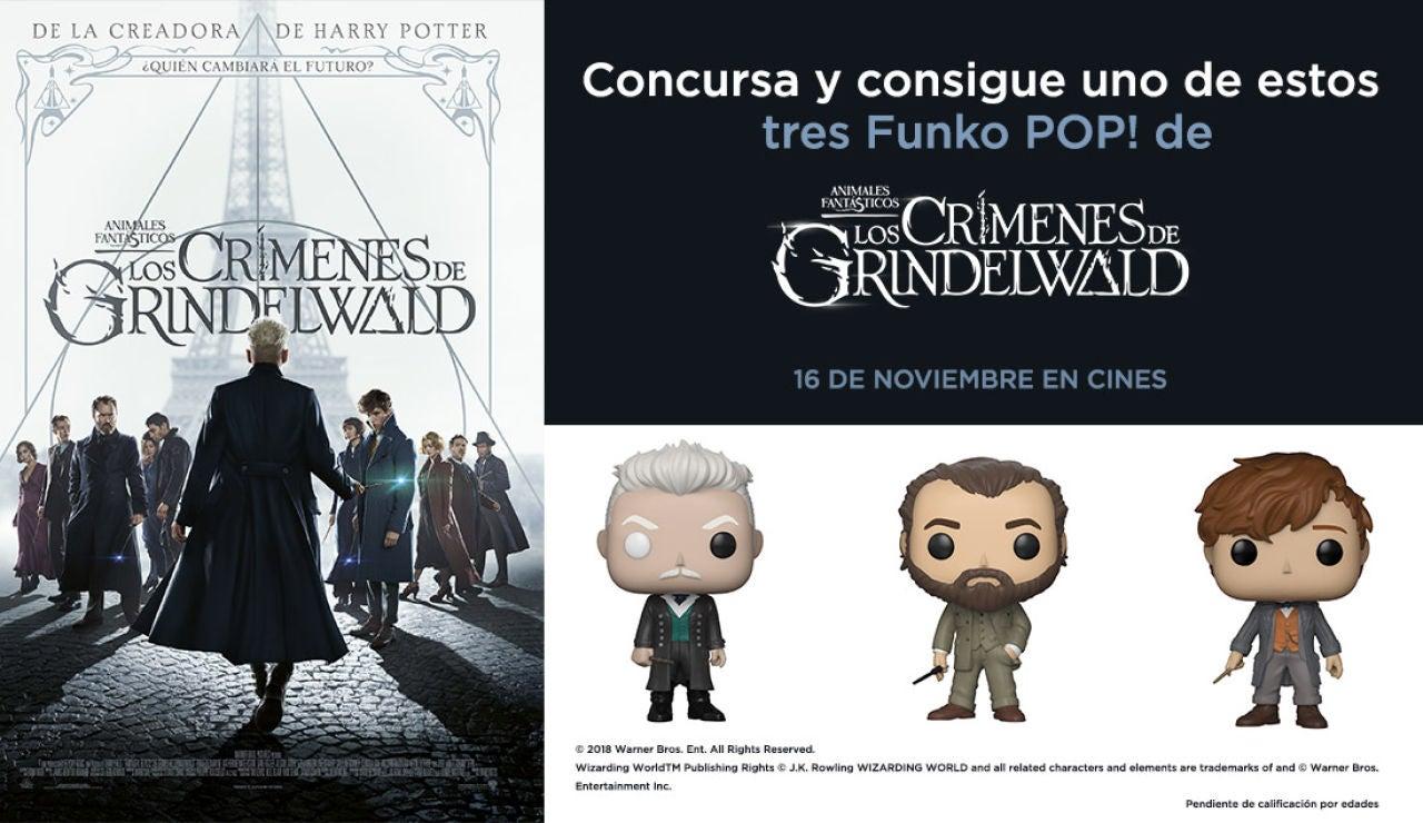 Concurso 'Animales Fantásticos: Los crímenes de Grindelwald'