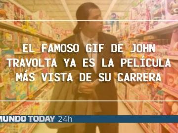 El gif de John Travolta