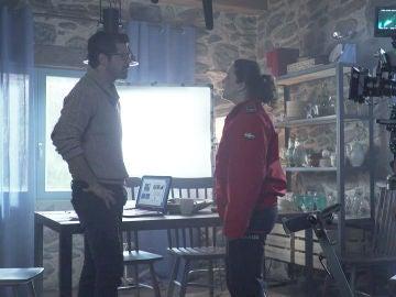 Así se graban las escenas de tensión entre Jon y Susana en el octavo capítulo de 'Presunto Culpable'
