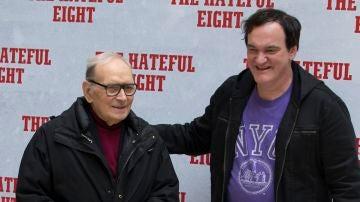 Ennio Morricone y Quentin Tarantino