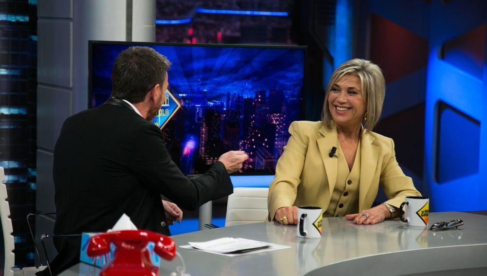 """VÍDEO EL HORMIGUERO: Julia Otero, sobre las hipotecas: """"El juez tiene que interpretar el instrumento que le han dado los políticos"""""""