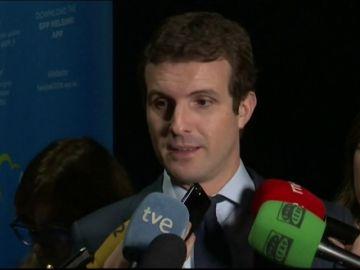"""Pablo Casado critica el """"engaño"""" del Gobierno a los españoles: """"El impuesto lo va a acabar pagando el que se hipoteca"""""""