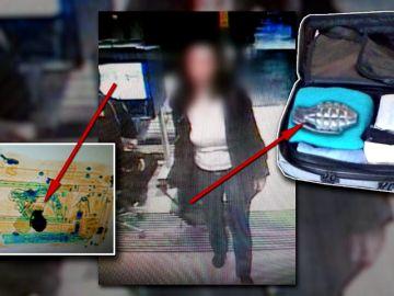 La mujer cuyo cinturón paralizó Atocha y Sants se quedó estupefacta cuando la pararon para registrar su maleta