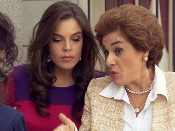 Benigna desvela el gran secreto de Gertru que puede ayudar a María a frenar el boicot