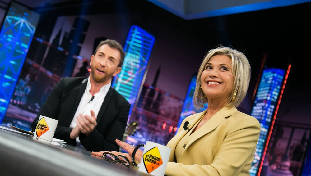 """VÍDEO: Así describe Julia Otero a Pablo Motos: """"Eres un buen tío, una buena persona y un buen compañero"""""""