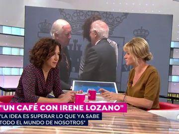 """Irene Lozano: """"La imagen que se tiene de España en el exterior es peor que la situación que existe en realidad"""""""