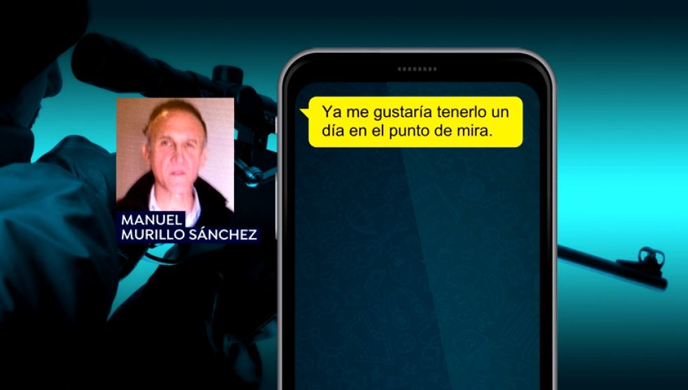 Los mensajes de WhatsApp del francotirador que quería matar a Sánchez