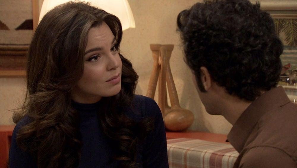 La decisión de Ignacio ante la escena erótica de María