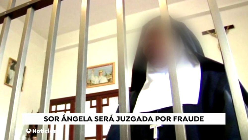 Sor Ángela, una monja de clausura, será juzgada por fraude