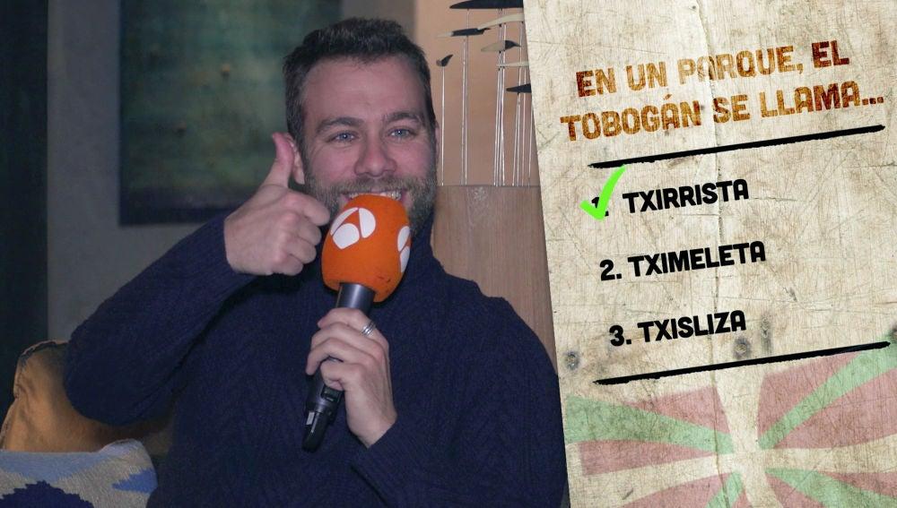 VÍDEO: Los actores de 'Presunto Culpable' sacan su lado más vasco en el divertido test de euskera