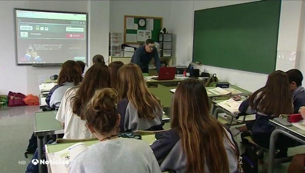 El PP anuncia que está en contra de la reforma educativa planteada por el PSOE y el Gobierno catalán a favor.