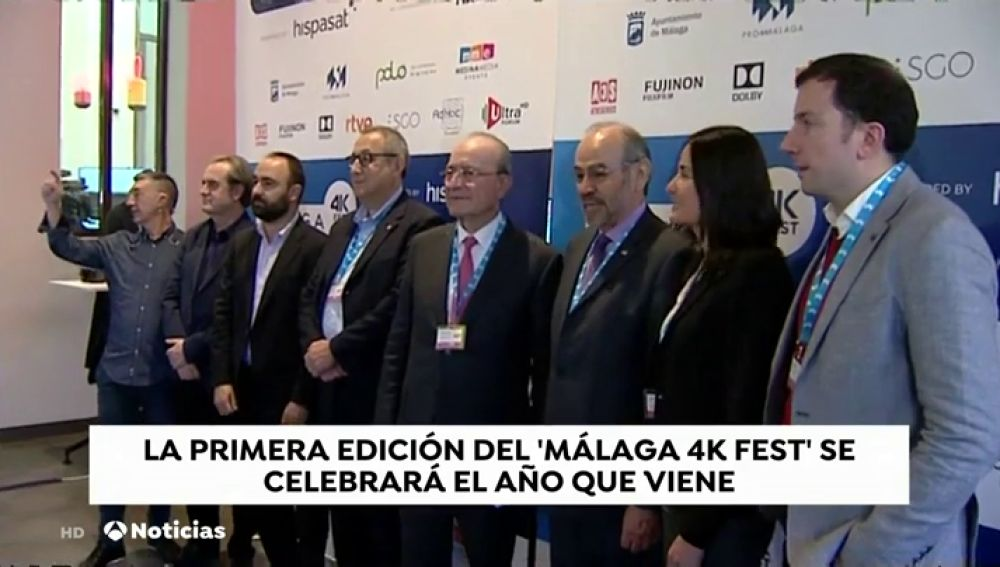 Málaga acogerá el Málaga 4K Fest, uno de los primeros festivales dedicados a cortometrajes rodados con esta tecnología.