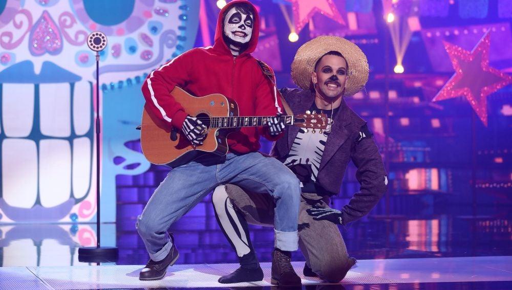 Carlos Baute nos emociona como Miguel de 'Coco'