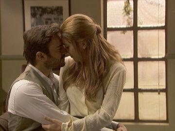 La romántica declaración de amor de Saúl y Julieta