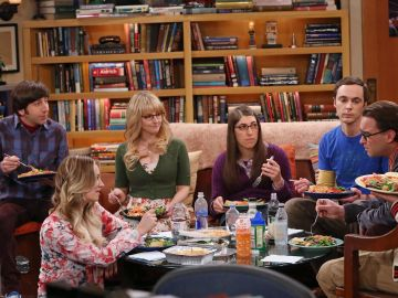 Escena de 'The Big Bang Theory'