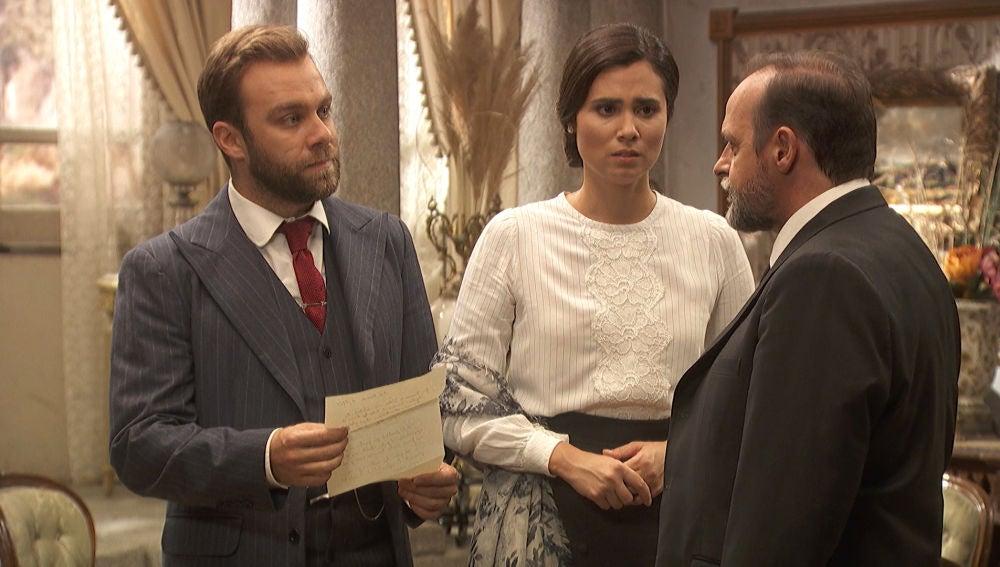 Raimundo pone en manos de Fernando la fortuna de Francisca Montenegro