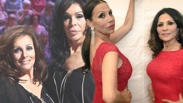 La 'disparatada' oferta de Azúcar Moreno a sus imitadoras Anabel Alonso y Bibiana Fernández