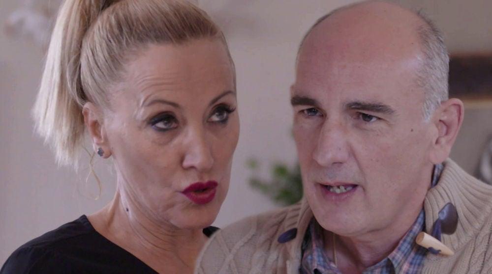 La acalorada discusión entre Nieves y Luis con final dramático
