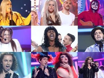¡Vota por la mejor actuación de la séptima gala de 'Tu cara me suena!