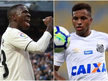 Vinicius y Rodrygo