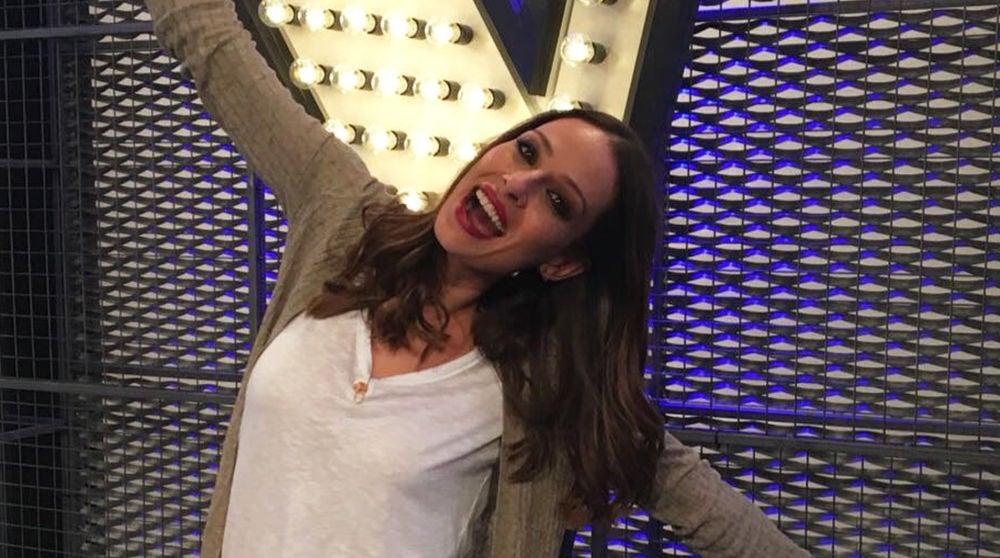Eva González nos cuenta cómo está viviendo sus primeras audiciones a ciegas al frente de 'La Voz' en Antena 3