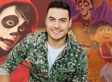 La reacción de Carlos Rivera, intérprete de 'Recuérdame' en 'Coco', tras la imitación de Carlos Baute