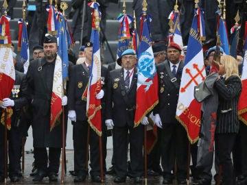 Celebración del centenario del fin de la Primera Guerra Mundial