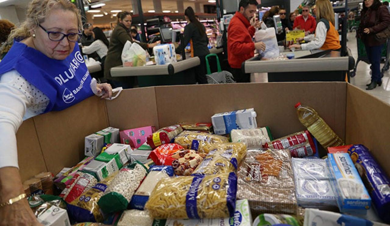 El Banco de Alimentos necesita voluntarios para la Gran Recogida