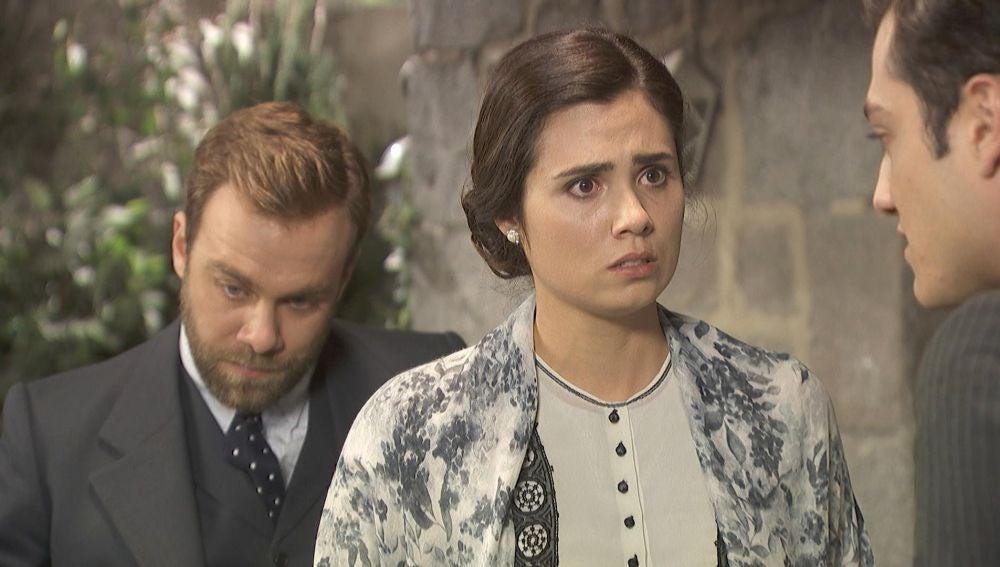 Prudencio preocupa a María y Fernando con malas noticias