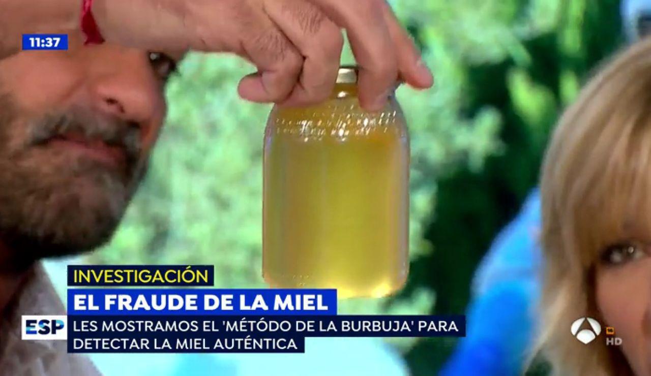 El fraude del consumo de miel.