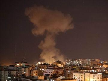 Bombardeos sobre Gaza