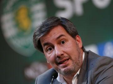 Bruno de Carvalho, presidente del Sporting de Portugal
