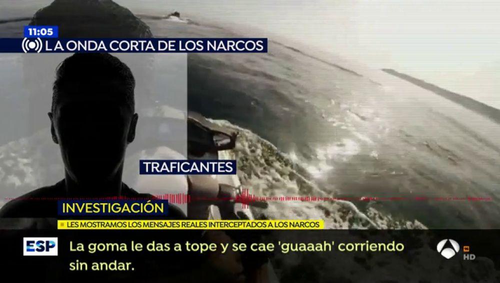Los mensajes reales de los narcotraficantes durante las operaciones de contrabando