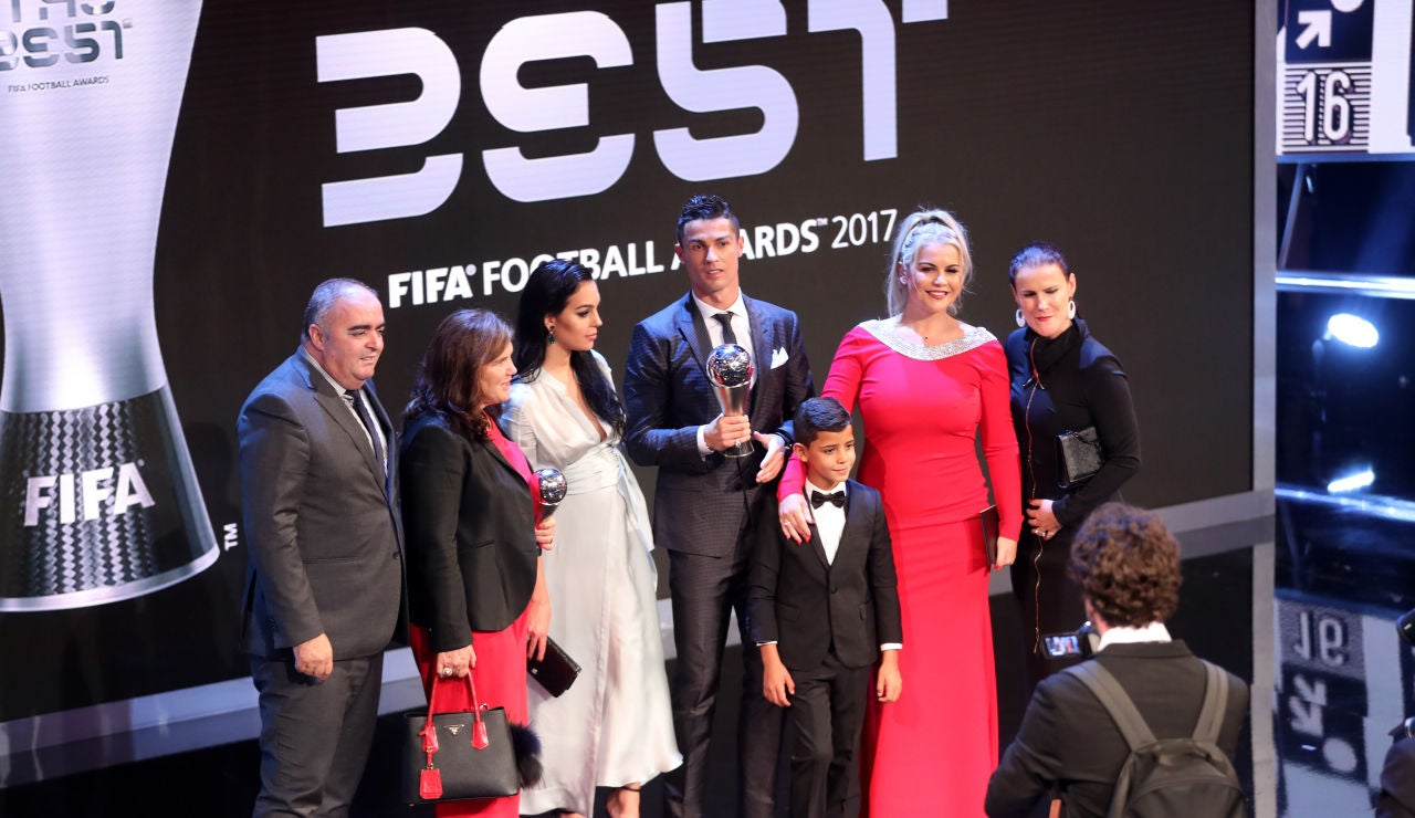 Familia Cristiano Ronaldo