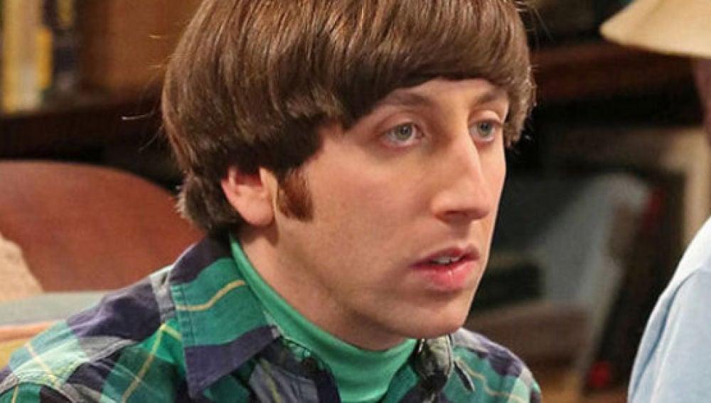 Howard en 'The Big Bang Theory'