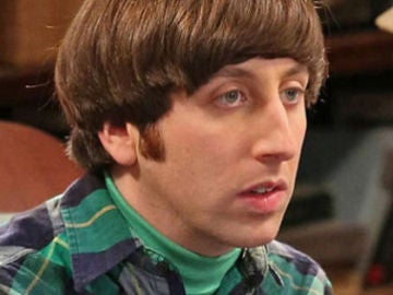 Howard en 'The Big Bang Theory'