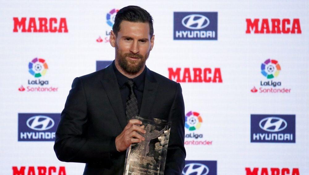 Leo Messi, Pichichi de la pasada temporada