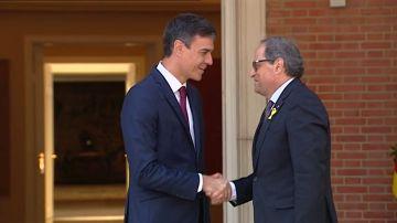 Los presupuestos, pendientes del encuentro de Redro Sánchez y Torra el día 21 en Barcelona