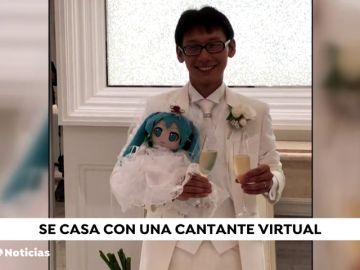 Un hombre japonés se ha casado con Hatsune Miku, la estrella pop virtual