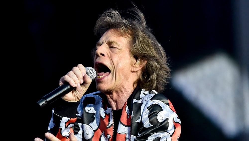 Mick Jagger en uno de sus últimos conciertos