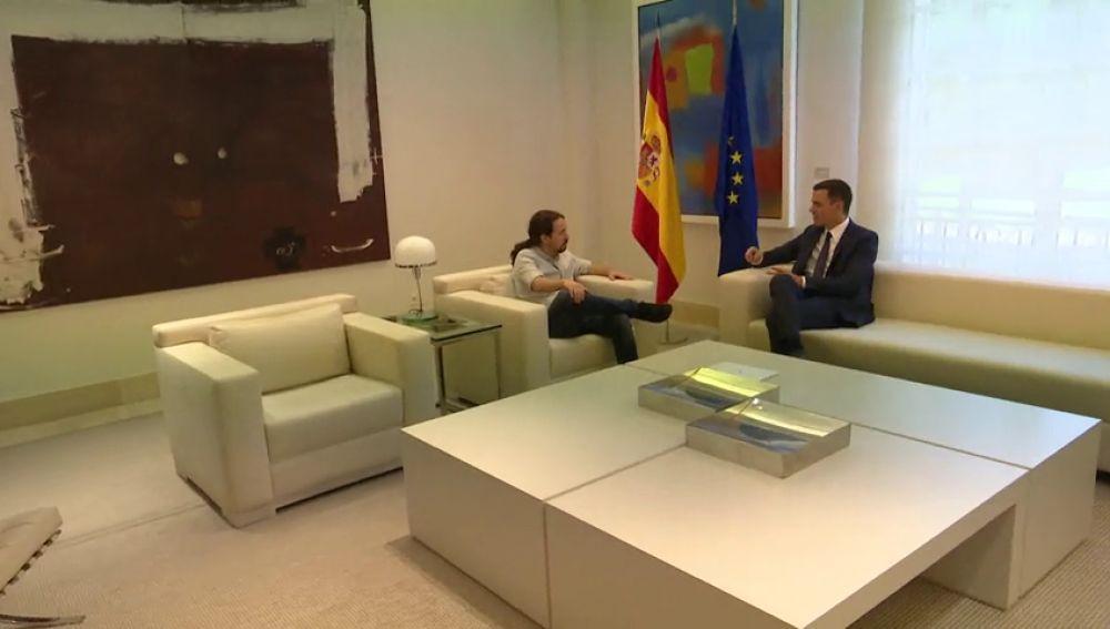 Sánchez informa a Iglesiasde la lista acordado con el PP para el CGPJ