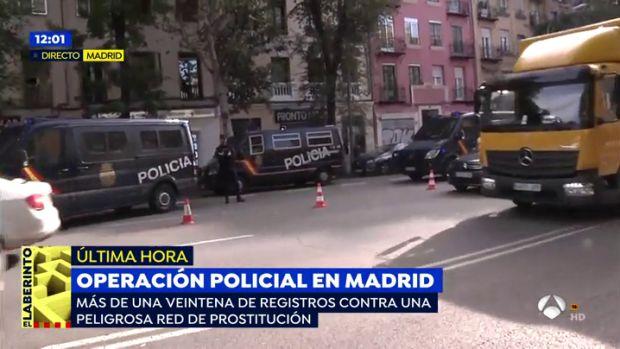Varios Detenidos Y Mujeres Liberadas En Una Operacion Contra Una Red