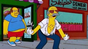 Stan Lee en 'Los Simpson'