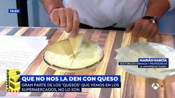 """El truco infalible para reconocer un queso real: si en la etiqueta pone """"fundido"""", pero no pone """"queso"""", no es auténtico"""
