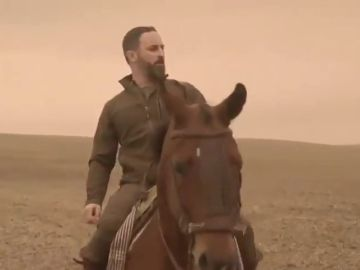 "El vídeo de Santiago Abascal a lomos de un caballo para ""reconquistar"" Andalucía"
