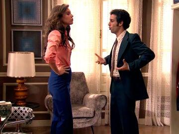 """Ignacio enfada a María: """"No quiero verte en la pantalla enseñando los pechos"""""""