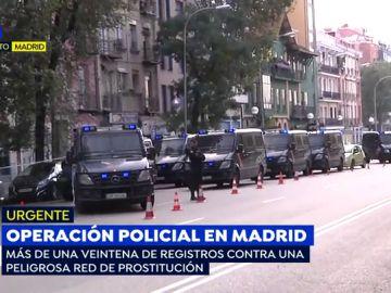 """Macro operación policial contra 'la Babilonia del sexo': """"Estamos acostumbrados a los registros porque el piso que pertenece a un nieto de Franco está repleto de prostitutas"""""""