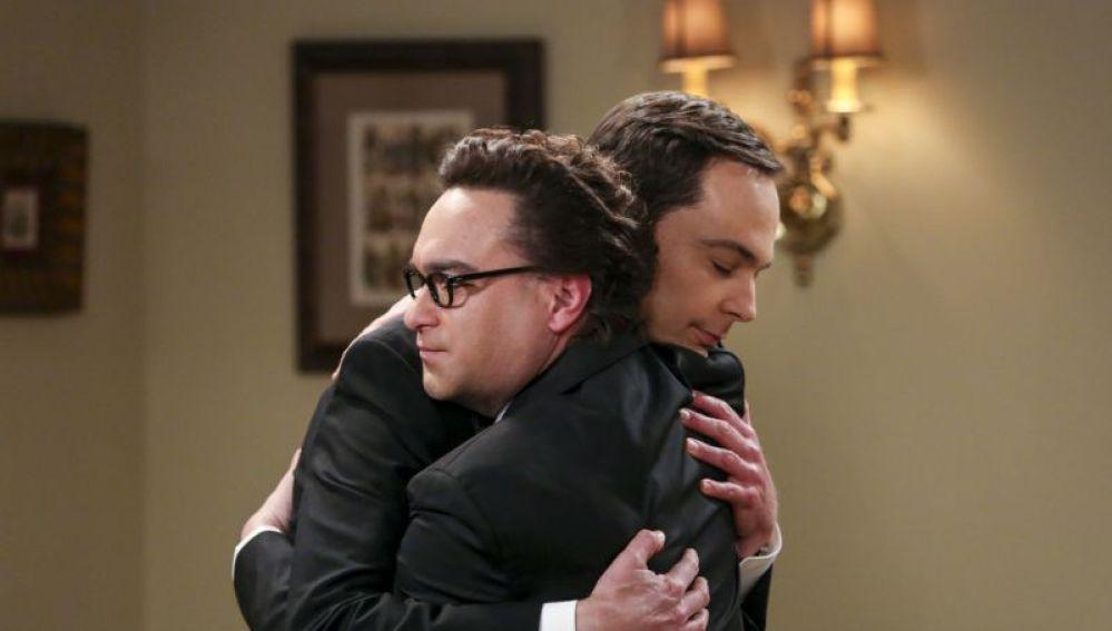 Johnny Galecki y Jim Parson en 'The Big Bang Theory'