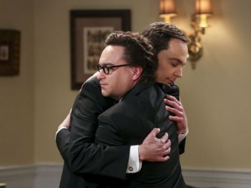 Johnny Galecki y Jim Parson en 'The Big Bang Theory'
