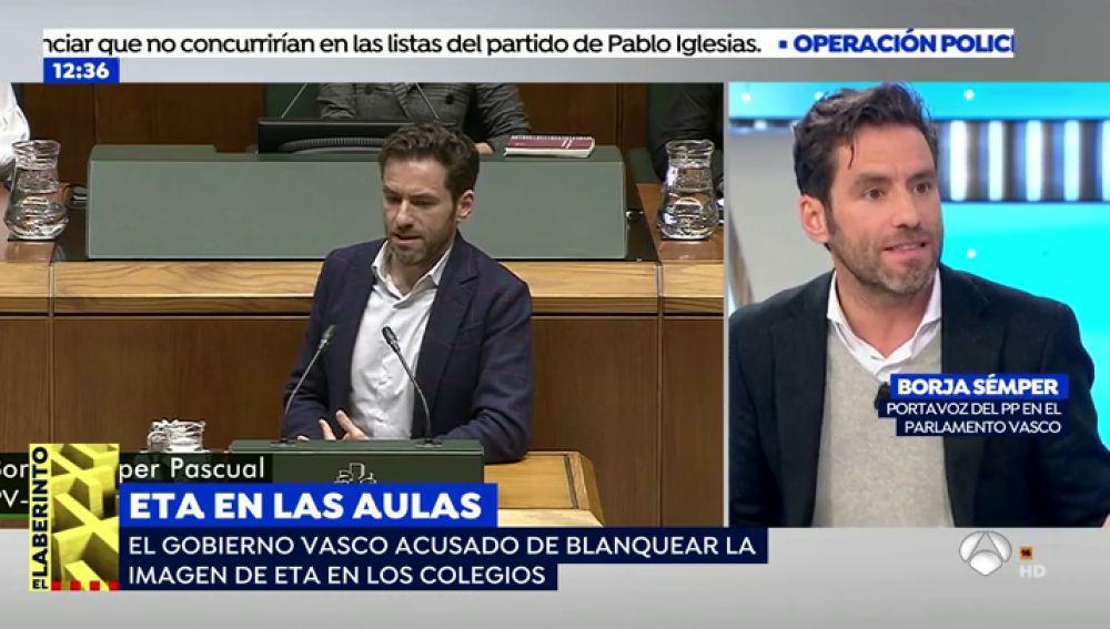 El Gobierno Vasco enseña a los alumnos de la ESO que la violencia de ETA estaba totalmente justificada por la situación en España